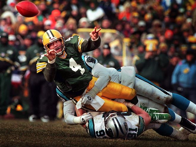Flashback: Favre Led Packers Past Panthers for First Super Bowl Appearance in 29 Years