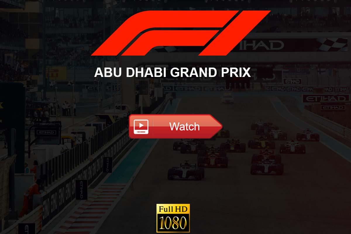 Abu Dhabi Grand Prix live streaming Reddit