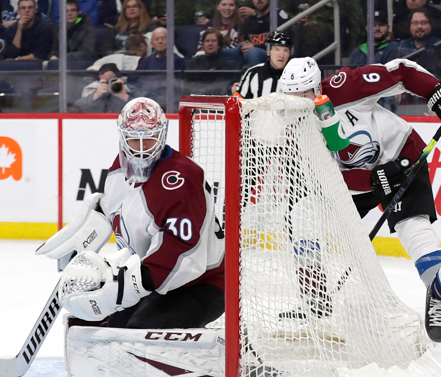 Colorado Avalanche get unexpected shutout from Adam Werner