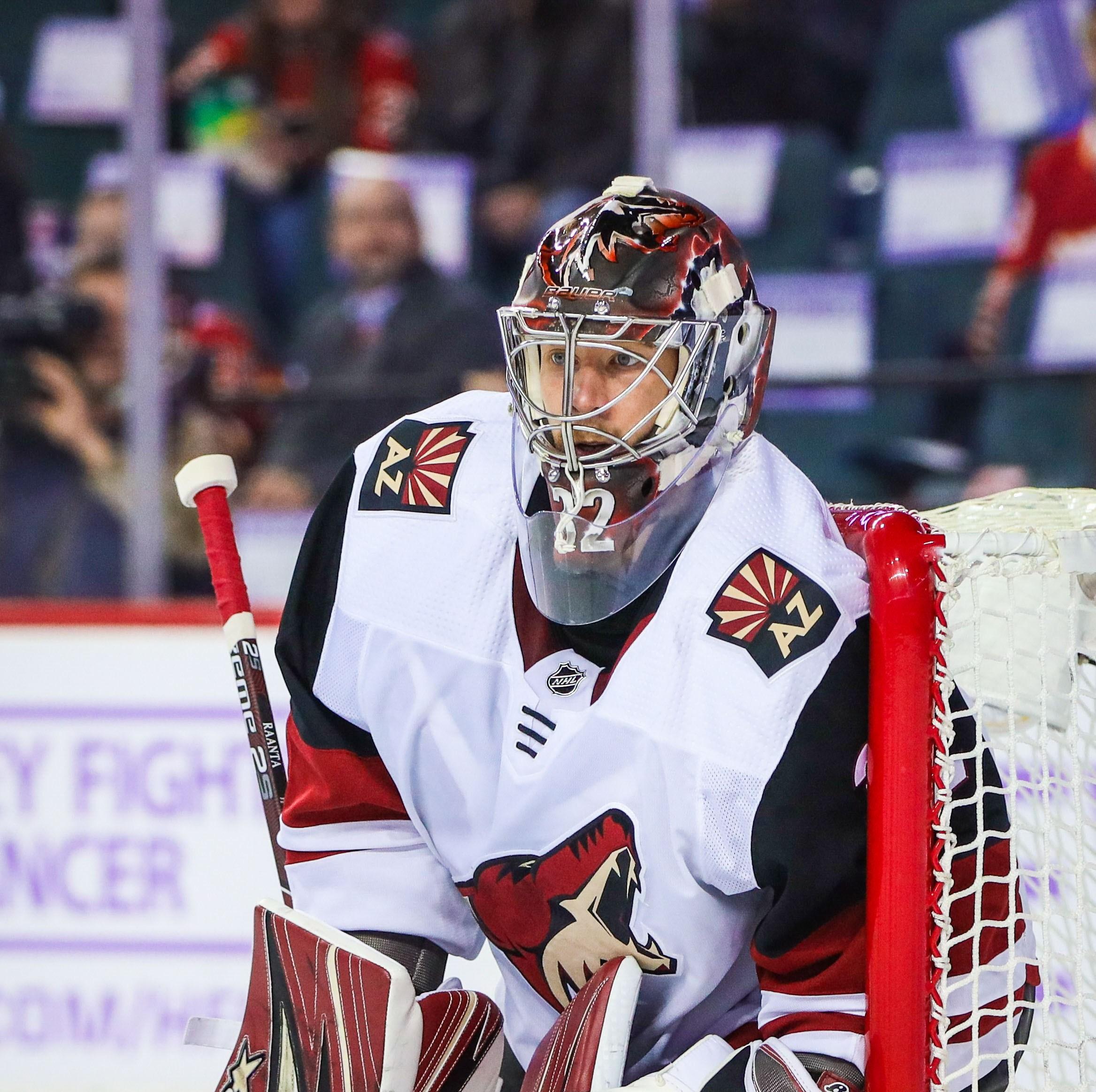 Antti Raanta records 12th career NHL shutout