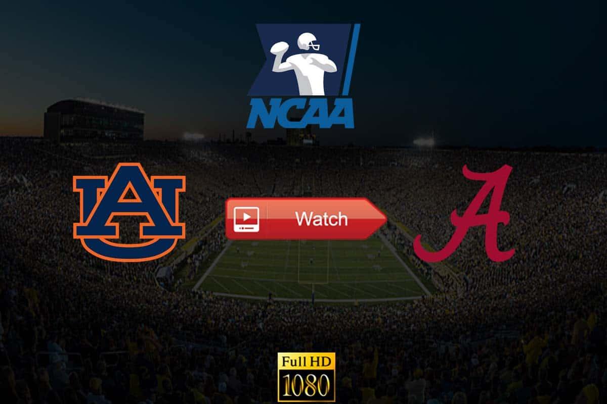 Auburn vs Alabama live stream Reddit