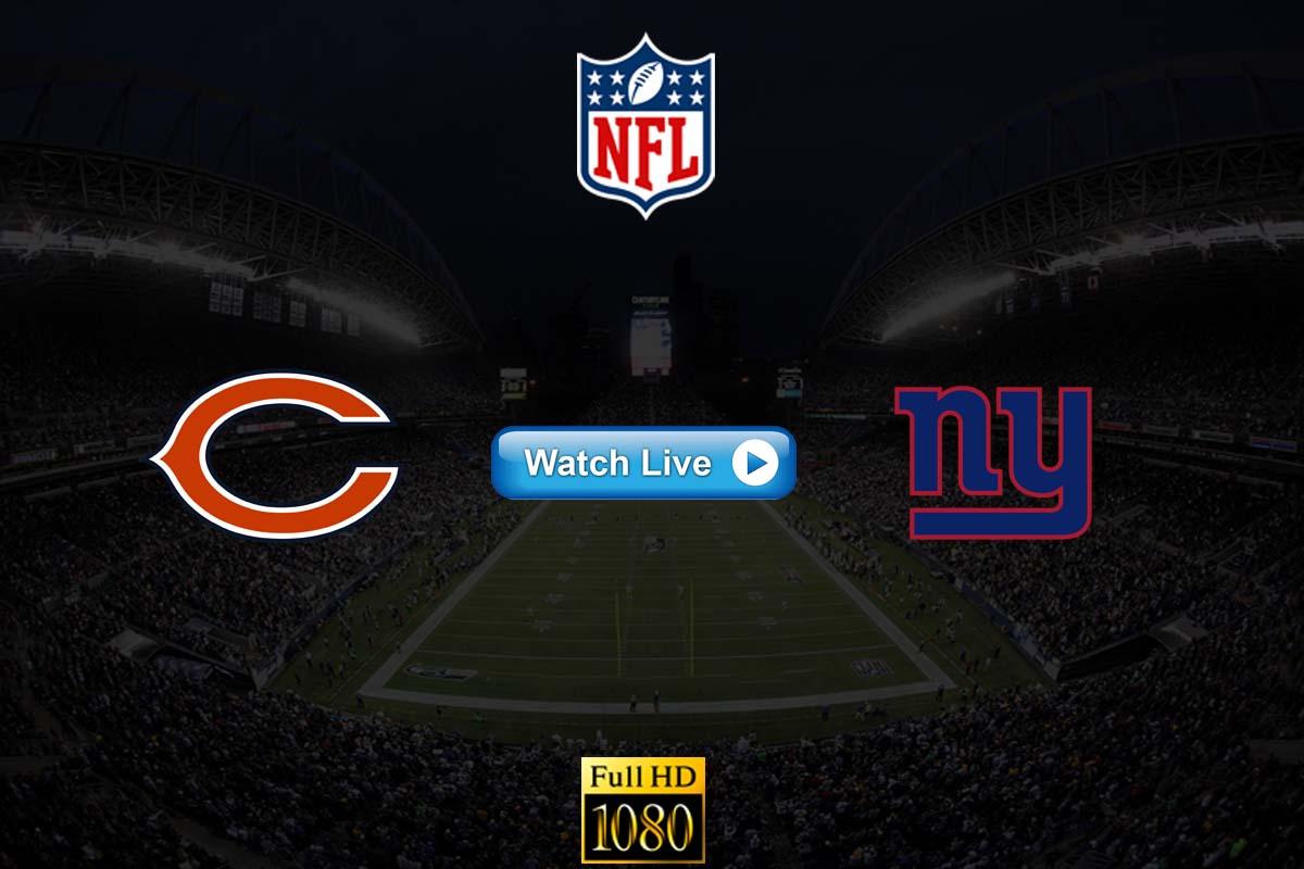 Bears vs Giants live streaming reddit