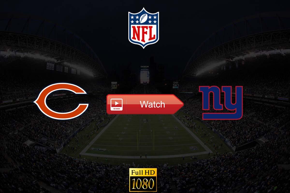 Bears vs Giants live stream reddit