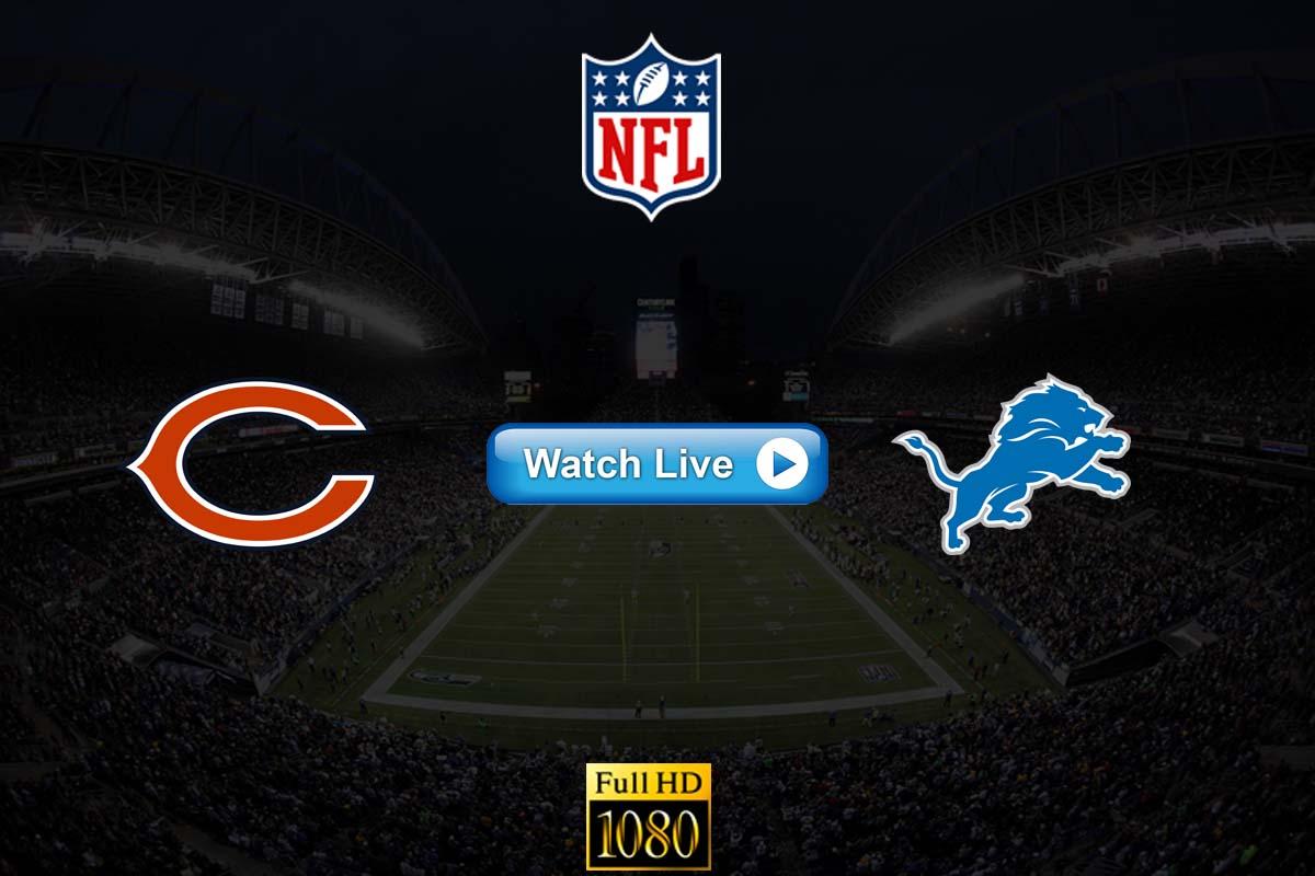 Bears vs Lions live streaming reddit