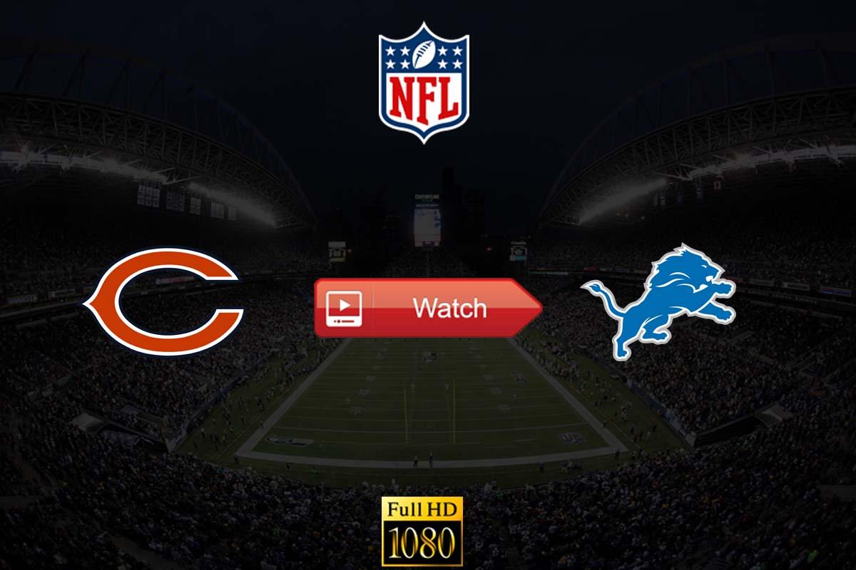 Bears vs Lions live stream reddit