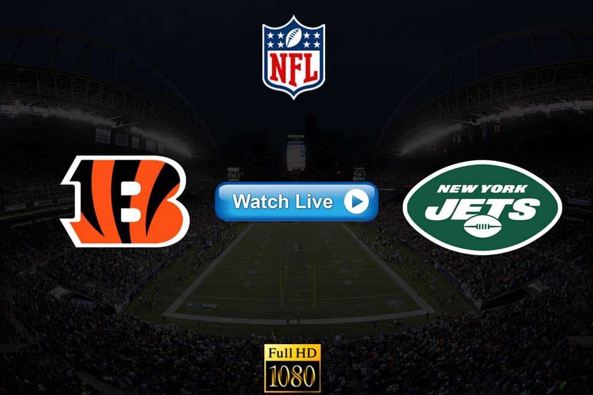 Bengals vs Jets live streaming reddit