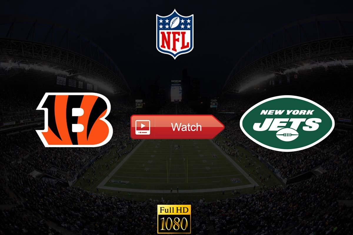 Bengals vs Jets live stream reddit