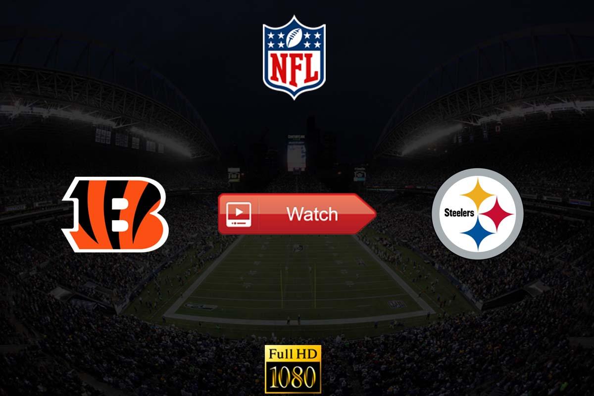 Bengals vs Steelers live stream reddit