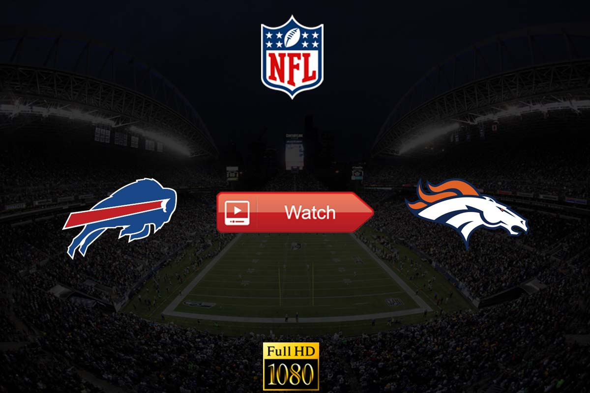 Bills vs Broncos live stream reddit