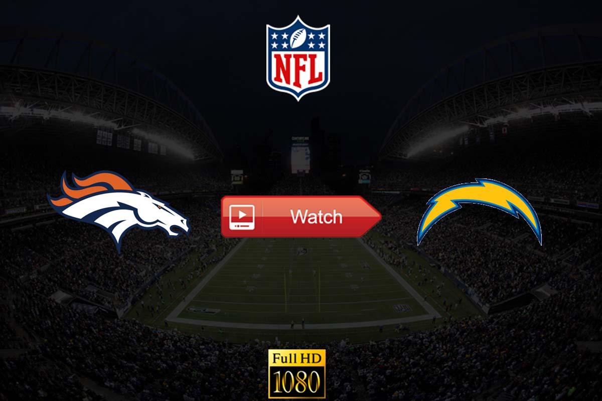 Broncos vs Chargers live stream Reddit
