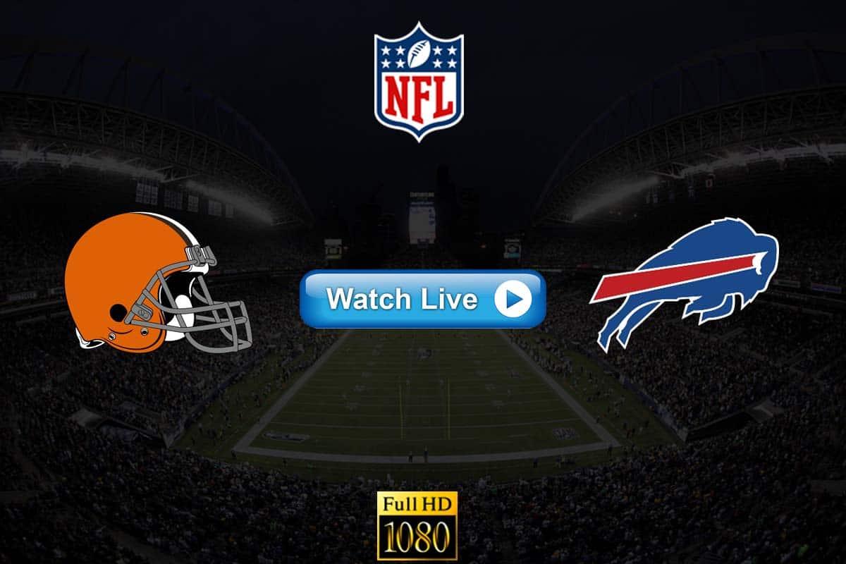 Browns vs Bills live streaming reddit