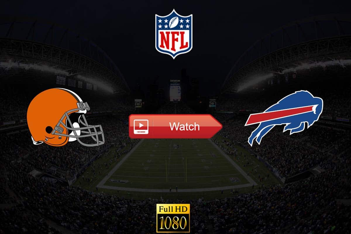 Browns vs Bills live stream reddit