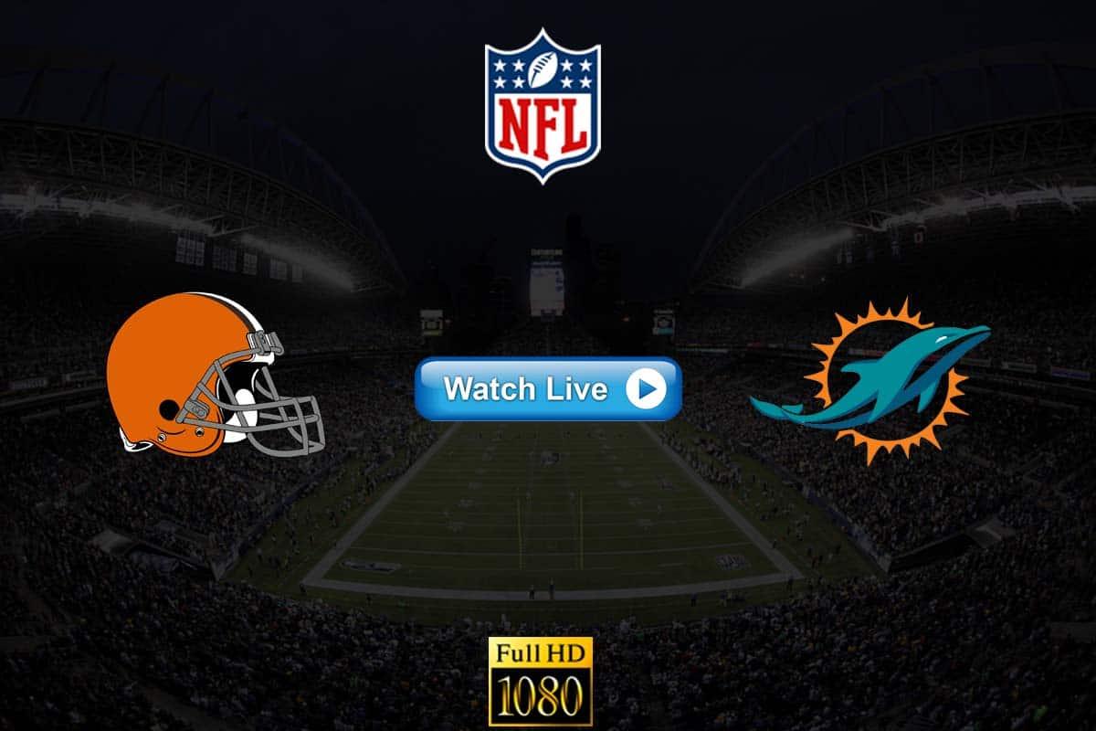 Browns vs Dolphins live streaming reddit