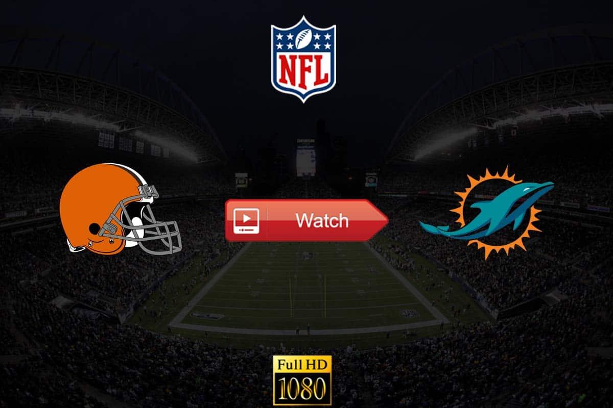 Browns vs Dolphins live stream reddit