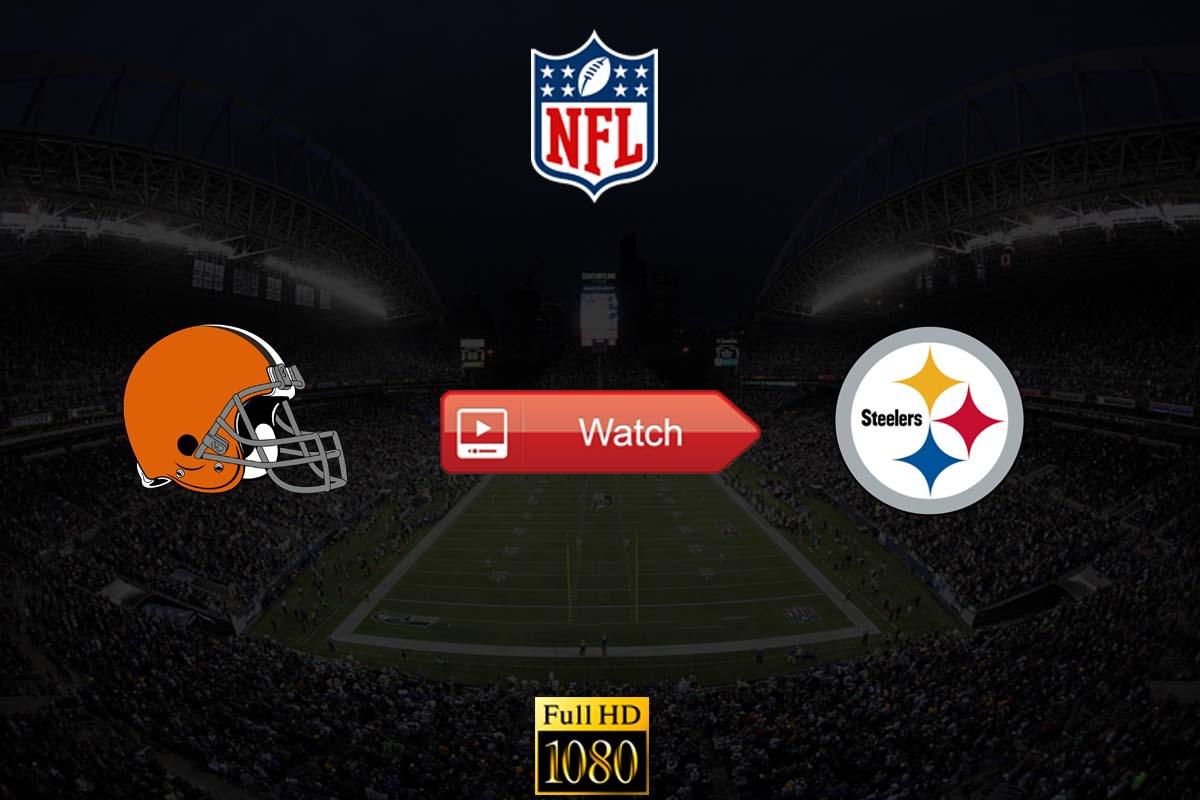 Browns vs Steelers live stream reddit