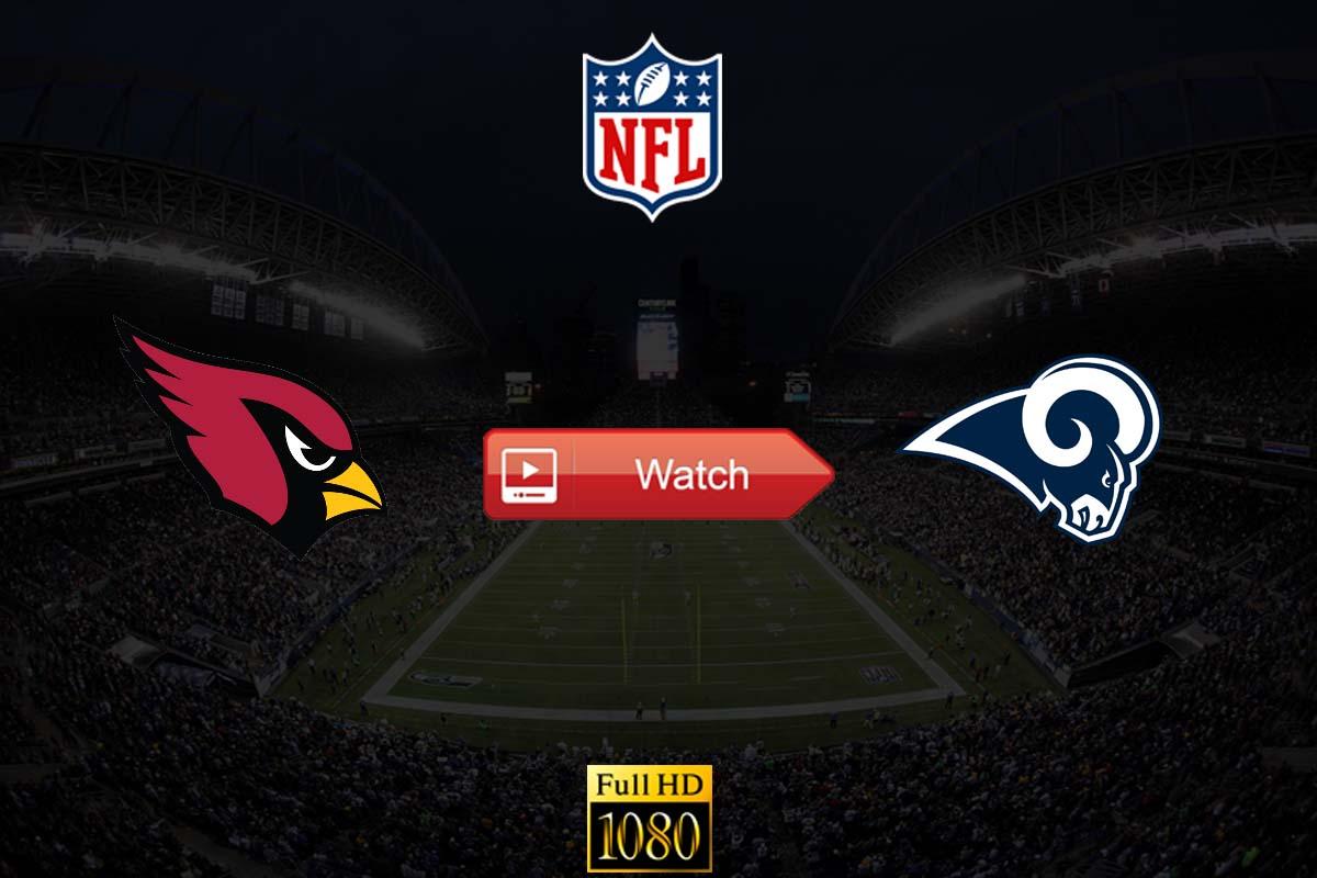 Cardinals vs Rams live stream reddit