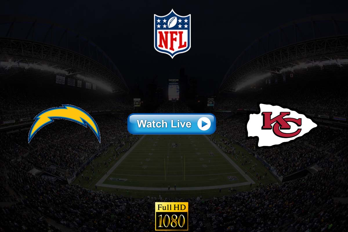 Chargers vs Chiefs live streaming reddit