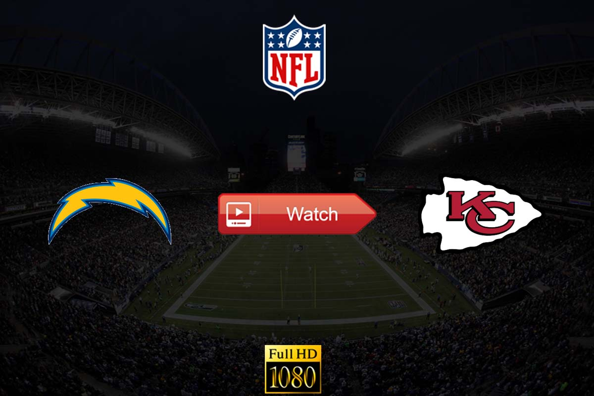 Chargers vs Chiefs live stream reddit