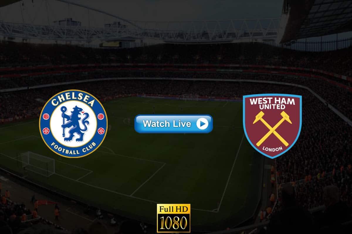 Chelsea vs West Ham live streaming Reddit