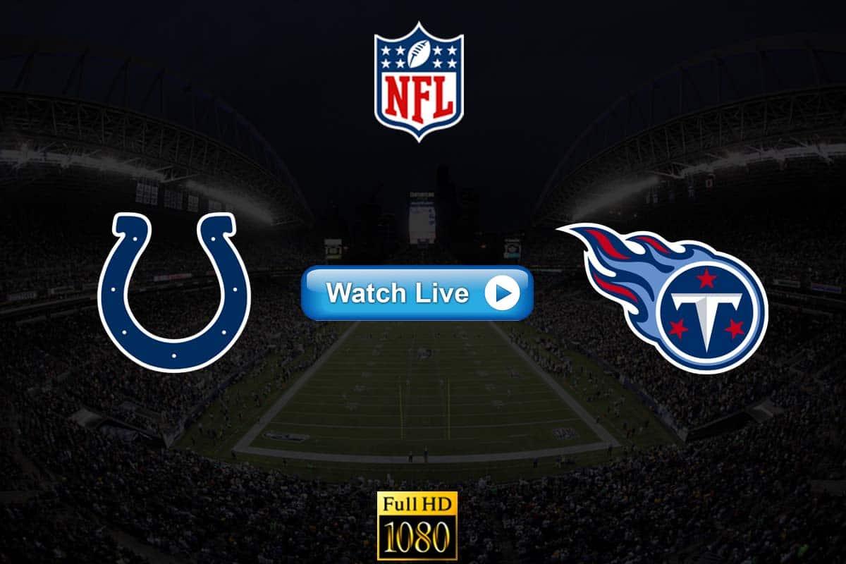 Colts vs Titans live streaming reddit