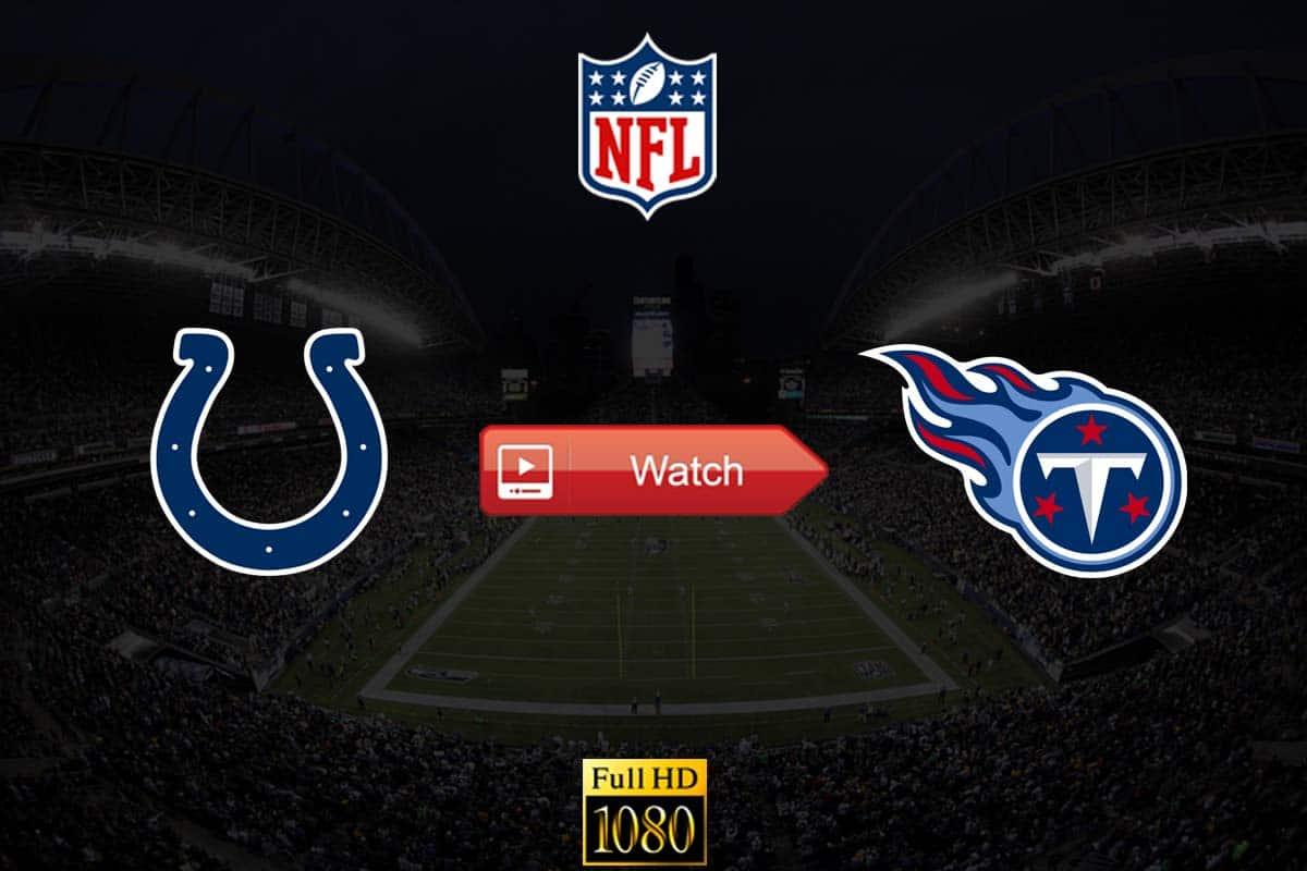 Colts vs Titans live stream reddit