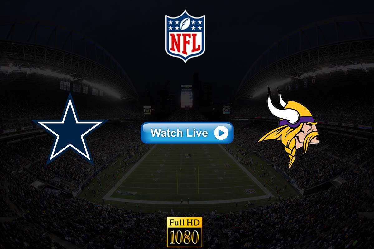 Cowboys vs Vikings live streaming reddit