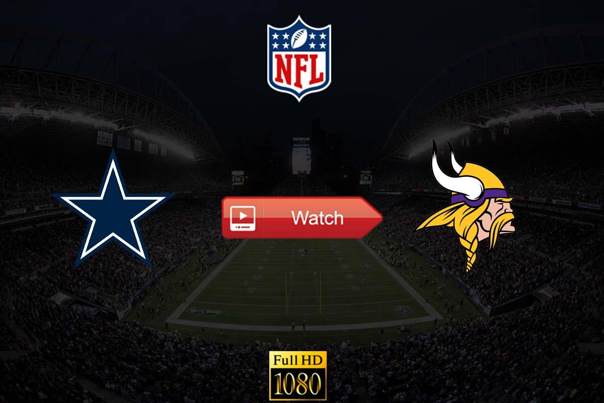 Cowboys vs Vikings live stream reddit