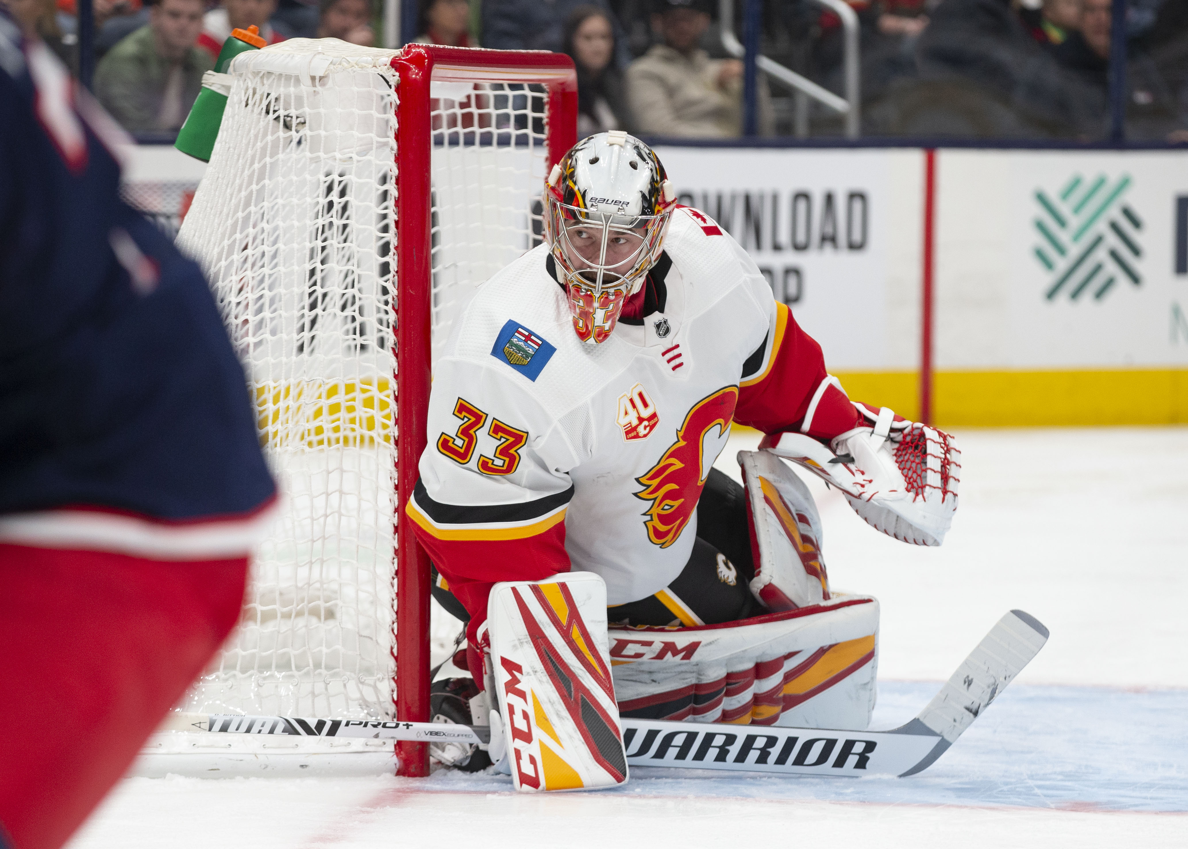 Dave Rittich records notable shutout for the Calgary Flames