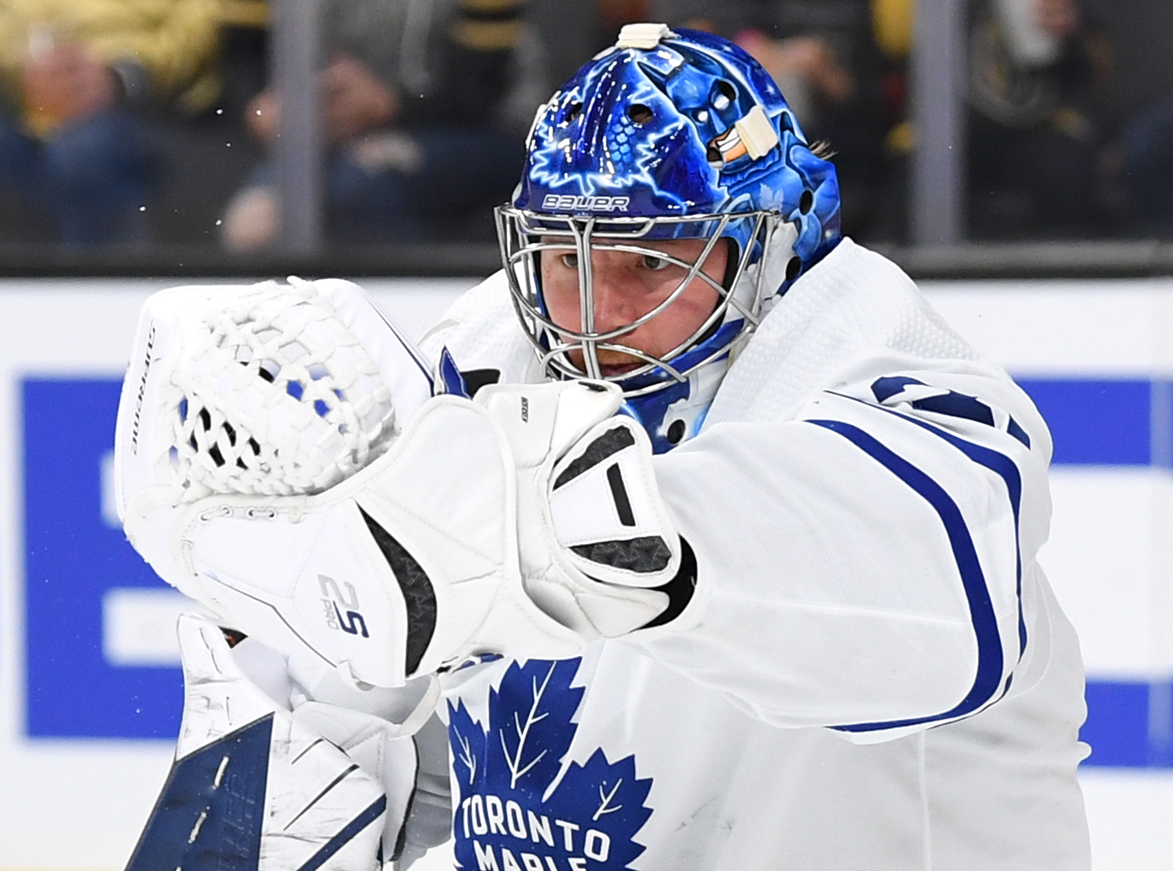 Maple Leafs goaltender Frederik Andersen records 17th career shutout