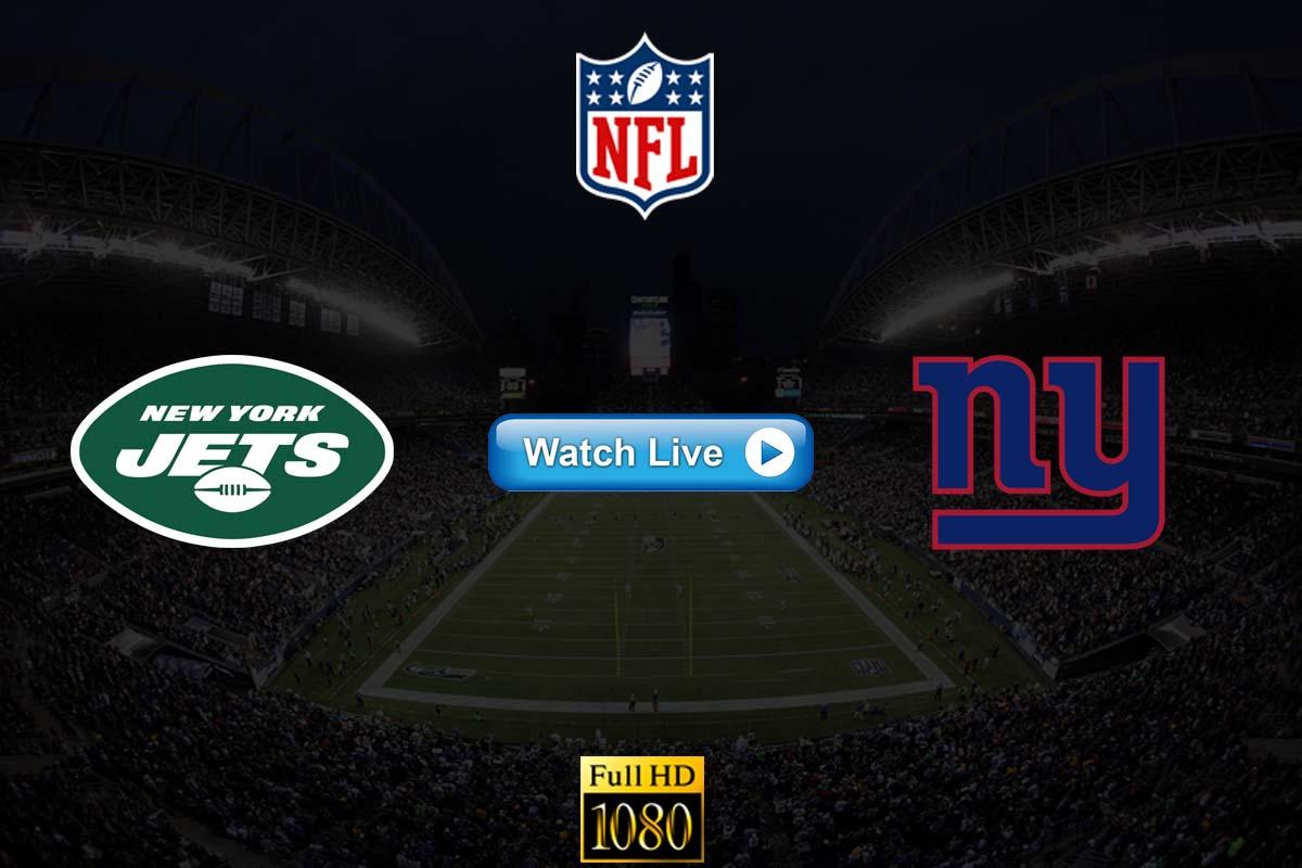 Jets vs Giants live streaming reddit