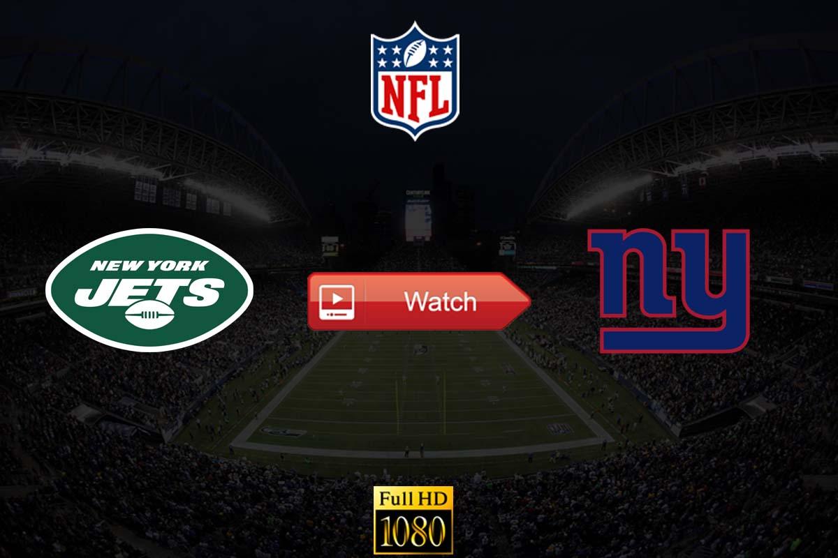 Jets vs Giants live stream reddit
