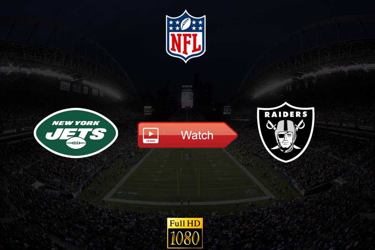 Jets vs Raiders live stream reddit