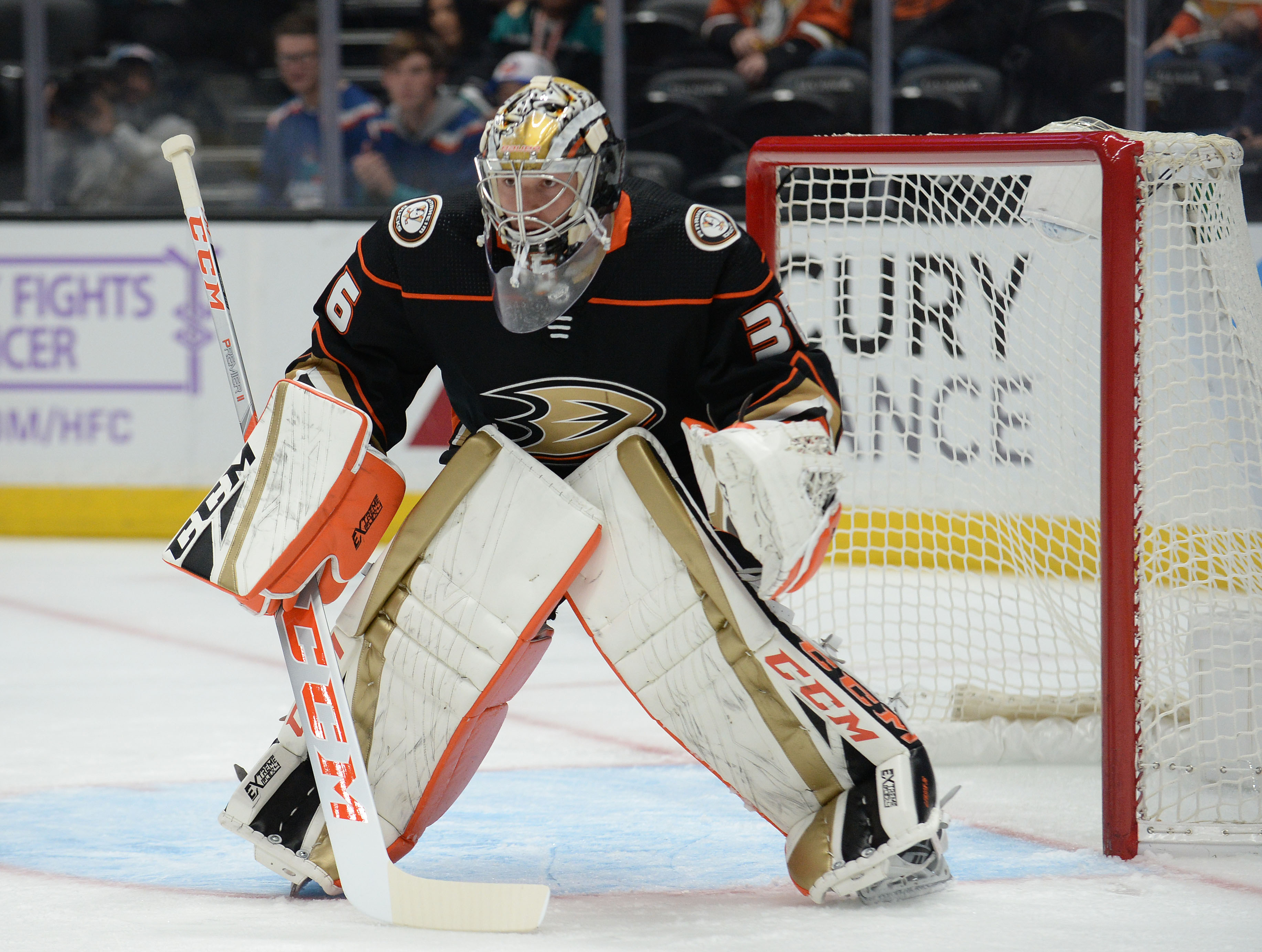 John Gibson records 21st career NHL shutout
