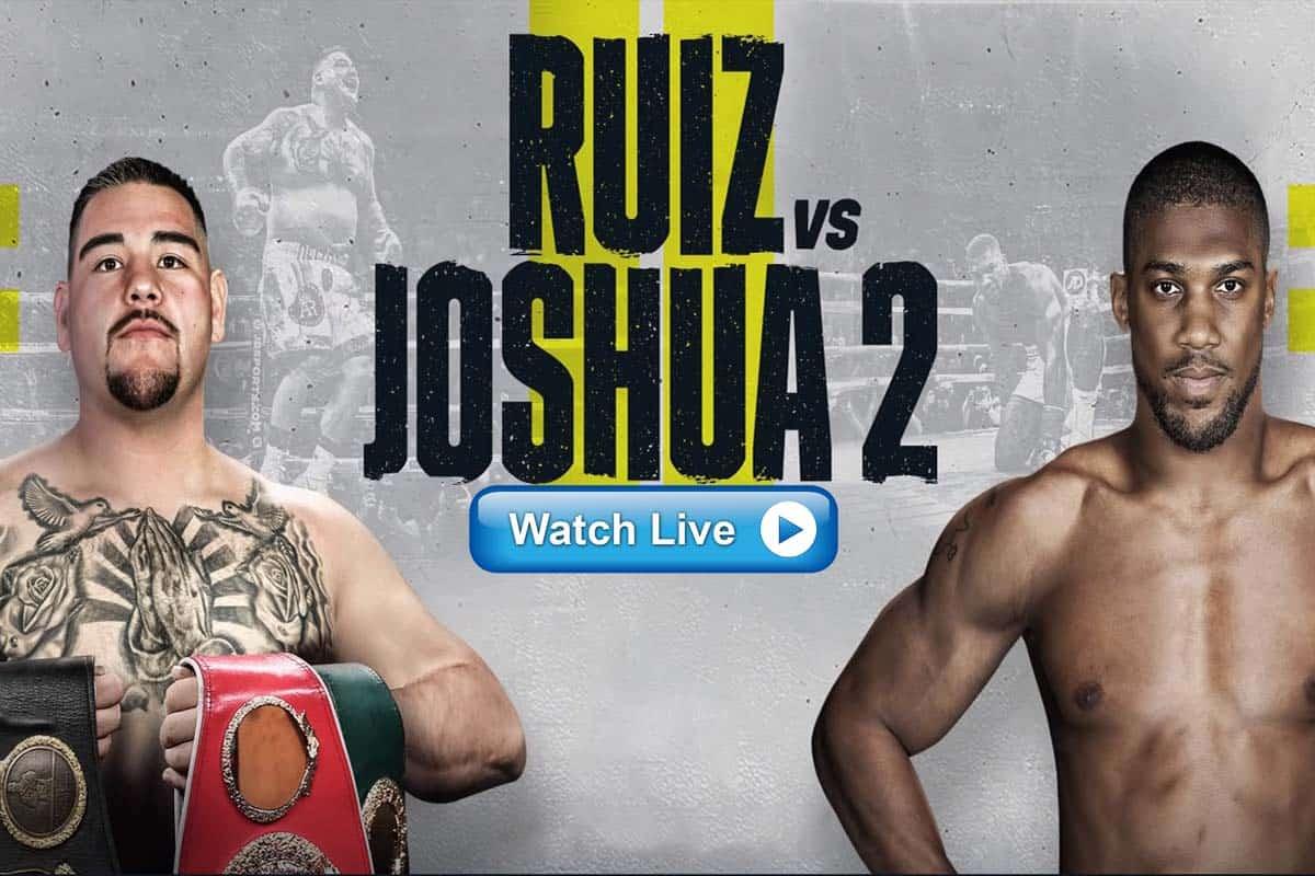 Joshua vs Ruiz 2 live stream reddit
