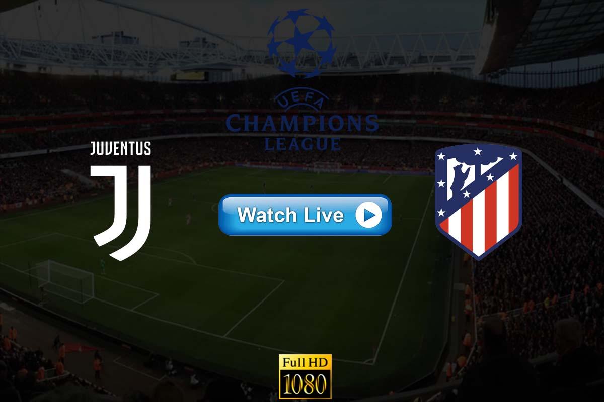 Juventus vs Atletico Madrid live streaming reddit