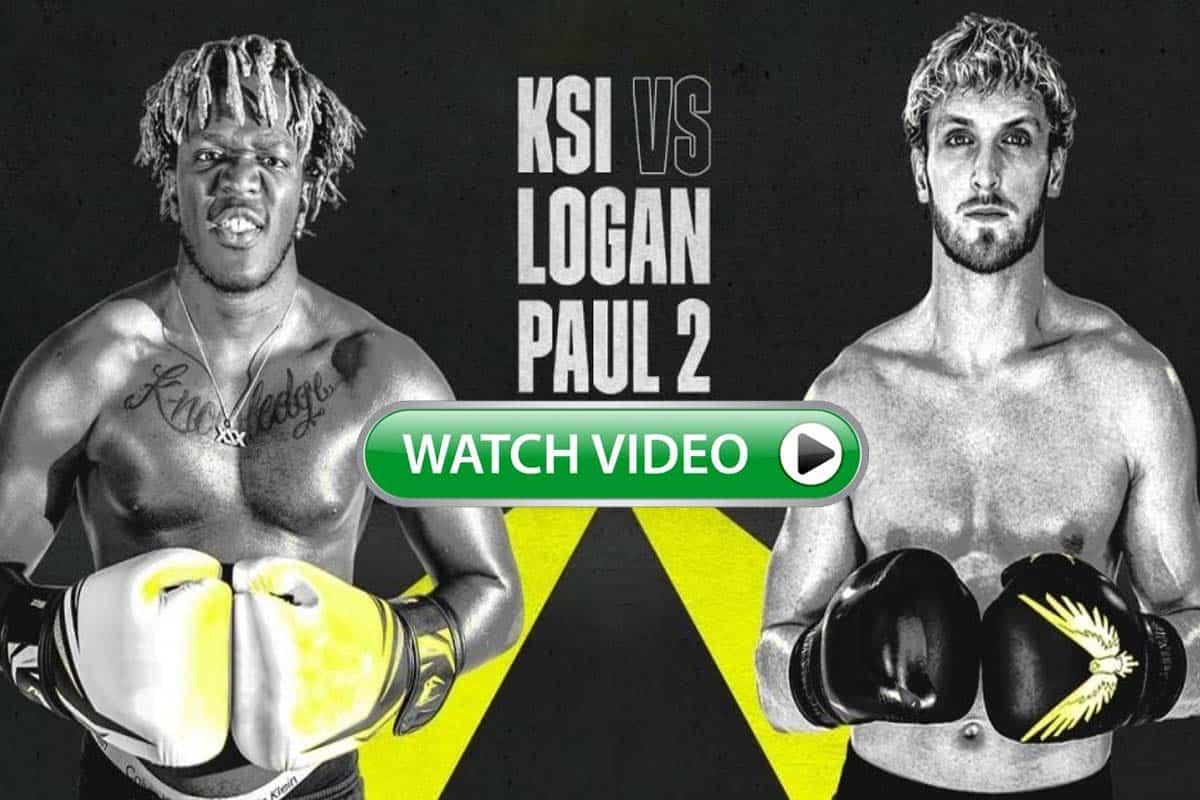 KSI vs Logan Paul live stream reddit