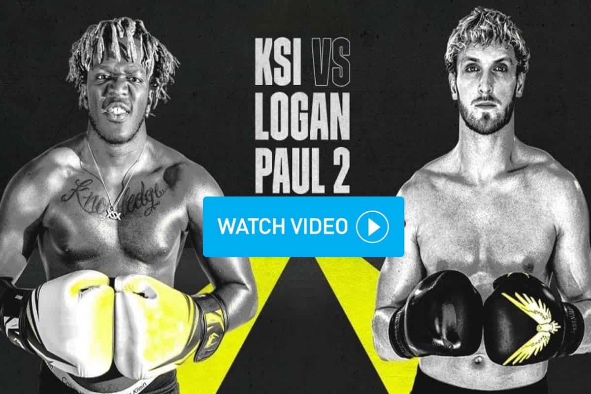 KSI vs Logan Paul 2 reddit streams