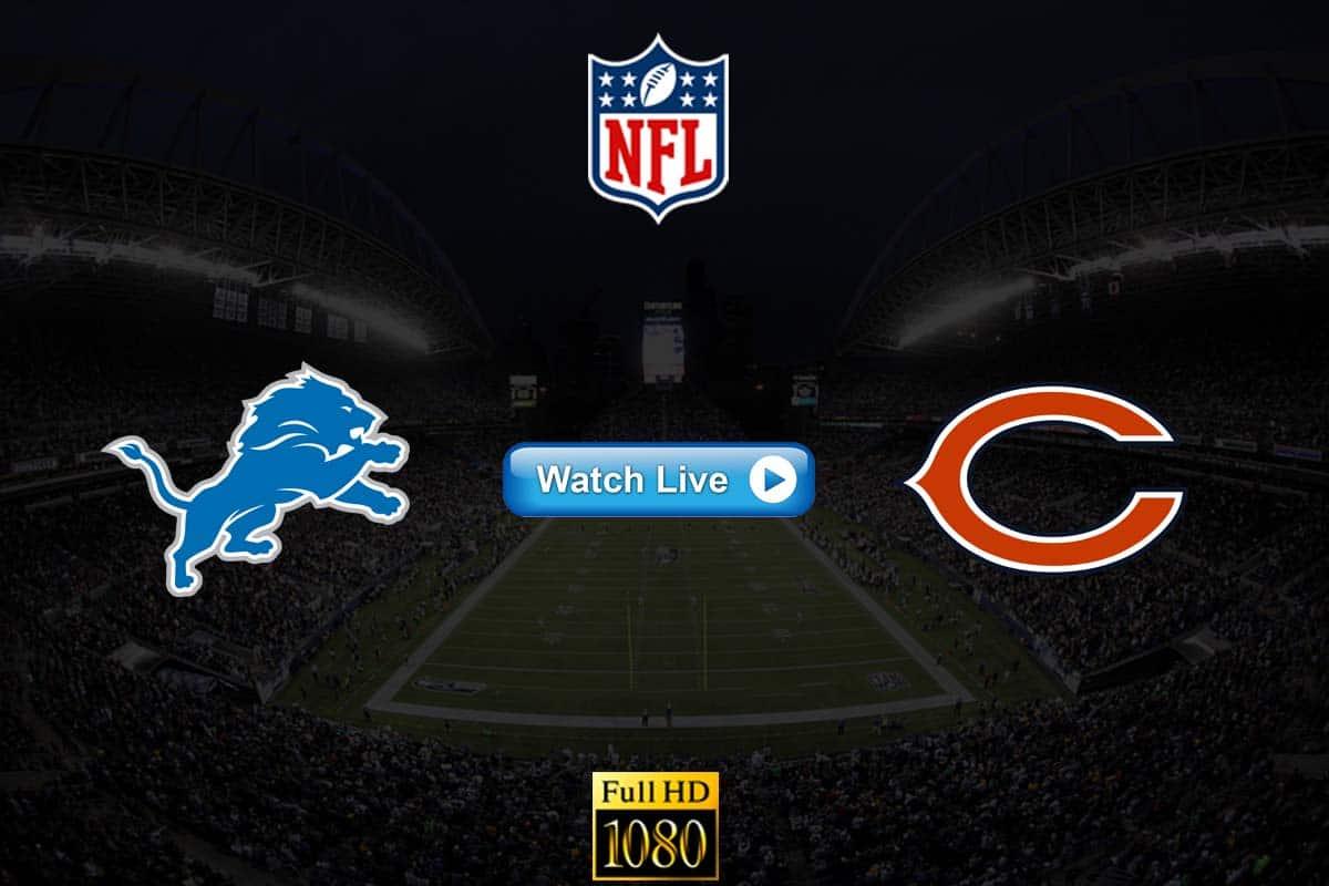 Lions vs Bears live streaming Reddit