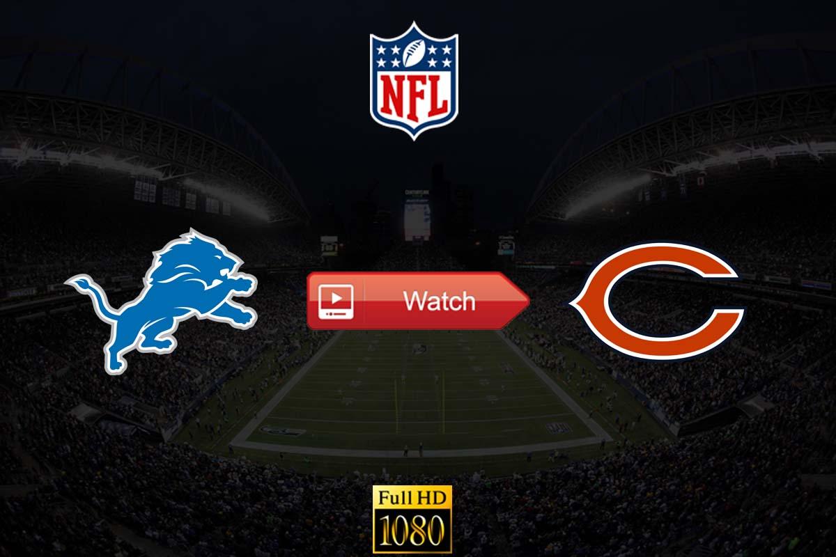 Lions vs Bears live stream Reddit