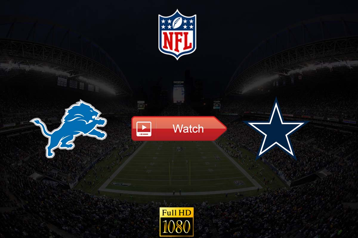 Lions vs Cowboys live stream reddit