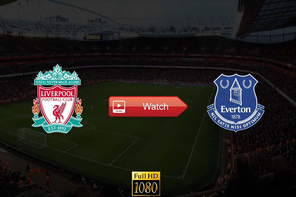 Liverpool vs Everton live stream reddit