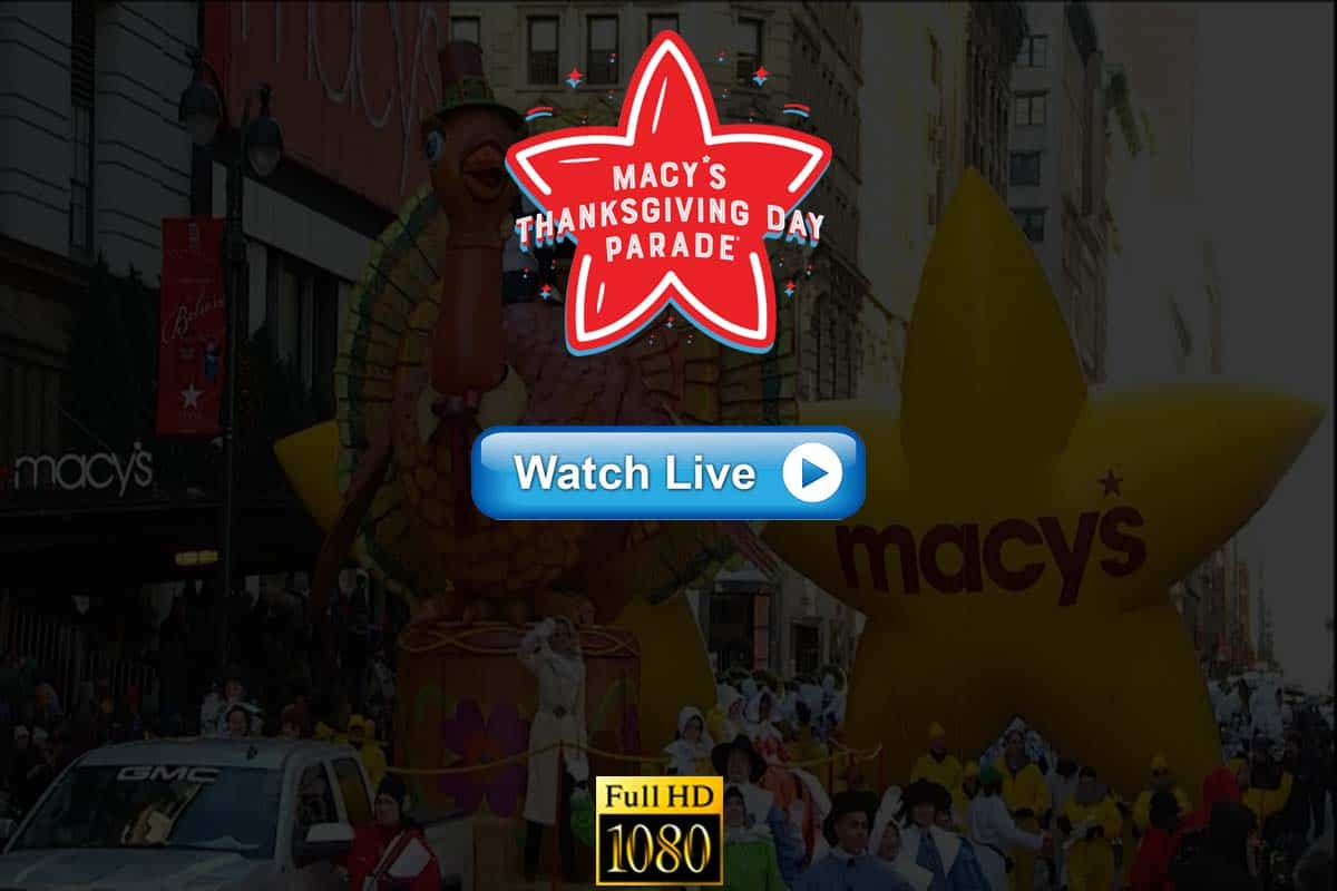 Macy's Thanksgiving Day Parade live streaming Reddit
