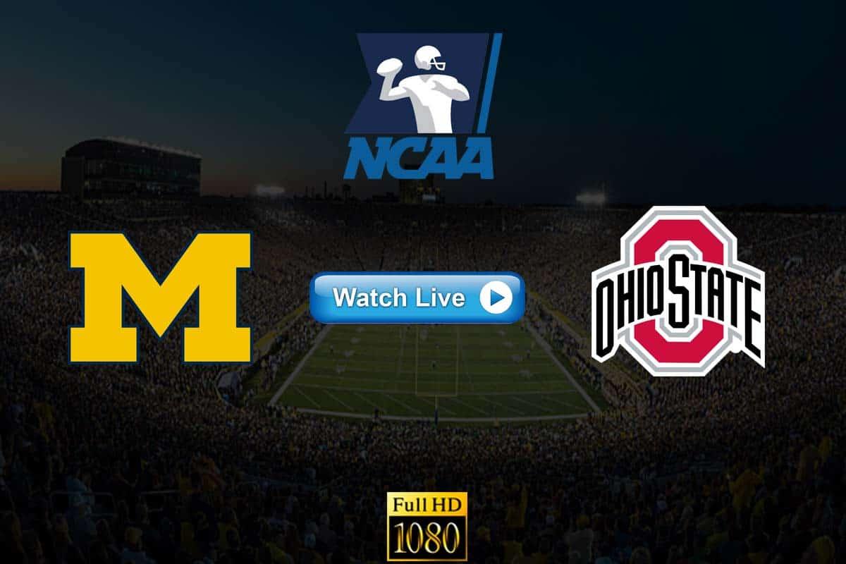 Michigan vs Ohio State live streaming Reddit