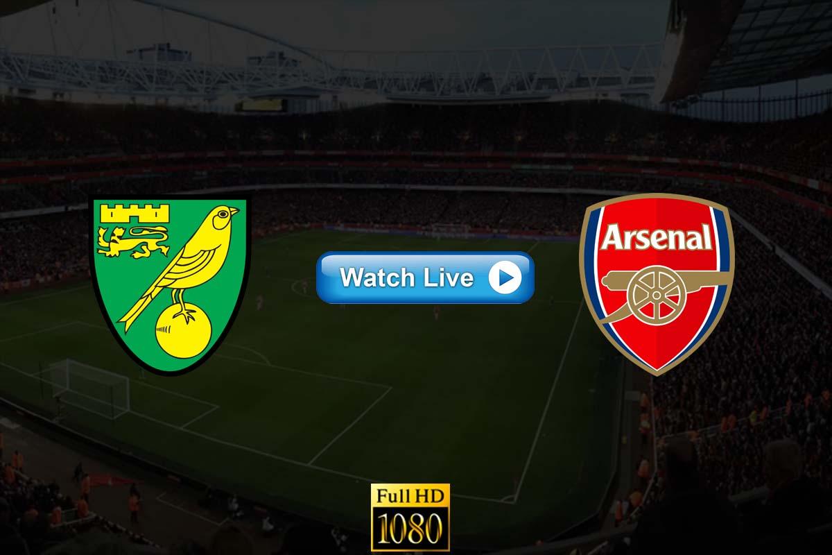 Arsenal vs Norwich City live streaming Reddit