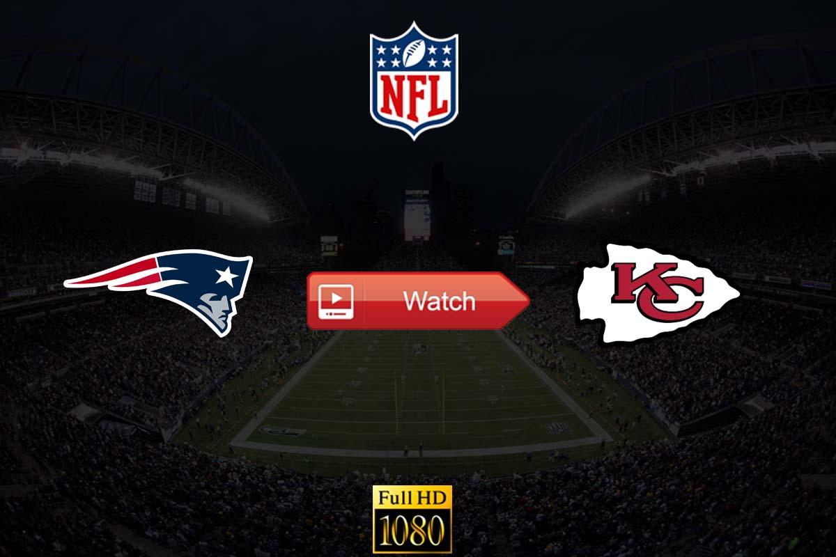 Patriots vs Chiefs live stream reddit