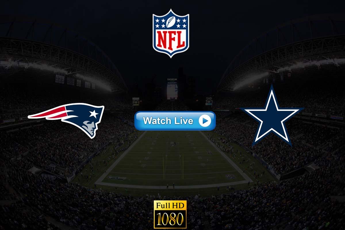 Patriots vs Cowboys live streaming reddit