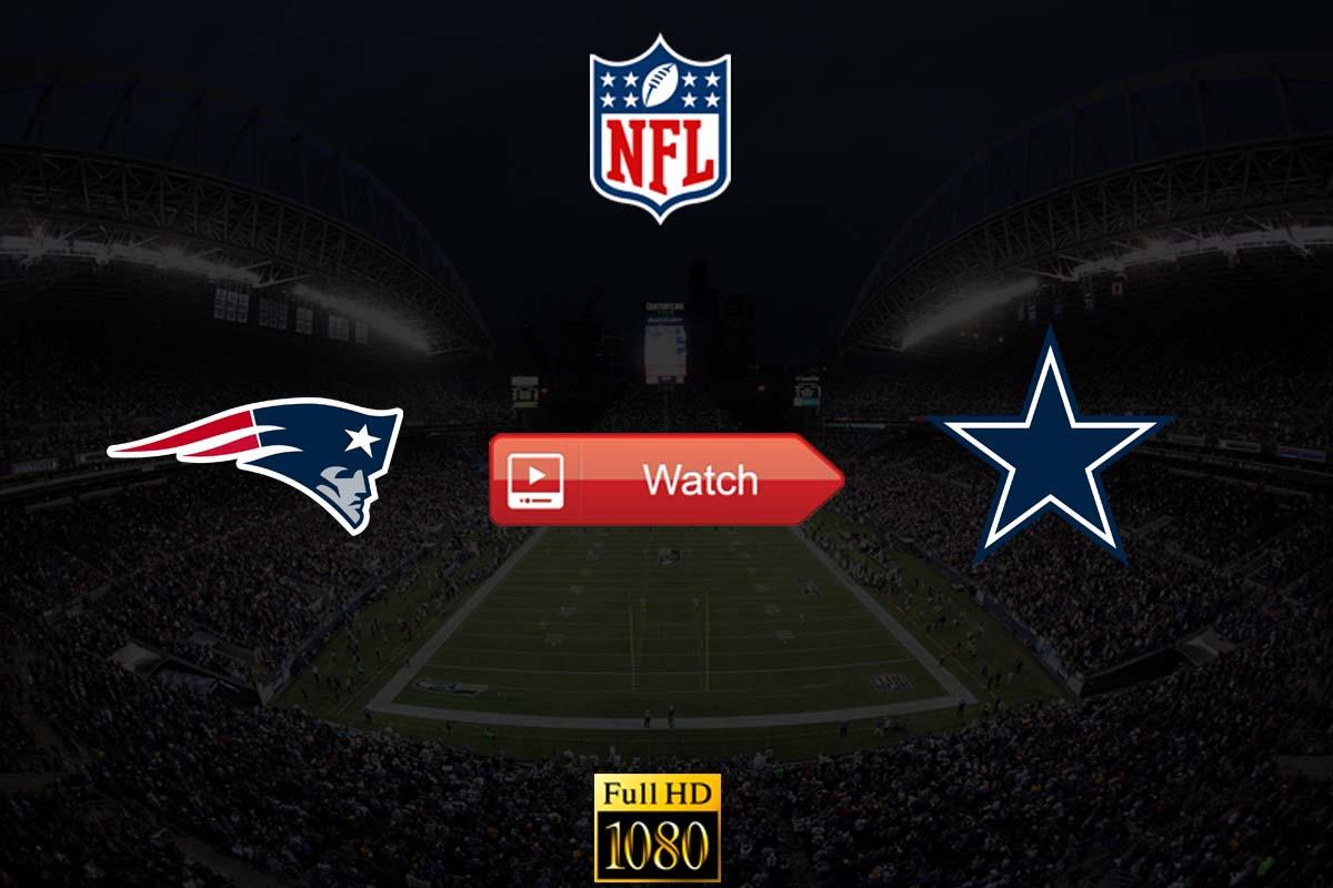 Patriots vs Cowboys live stream reddit