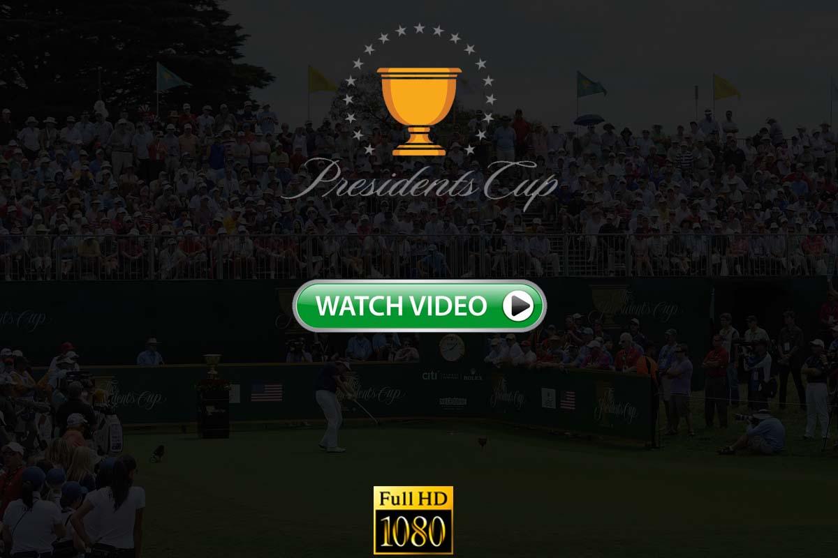 Presidents Cup live stream Reddit