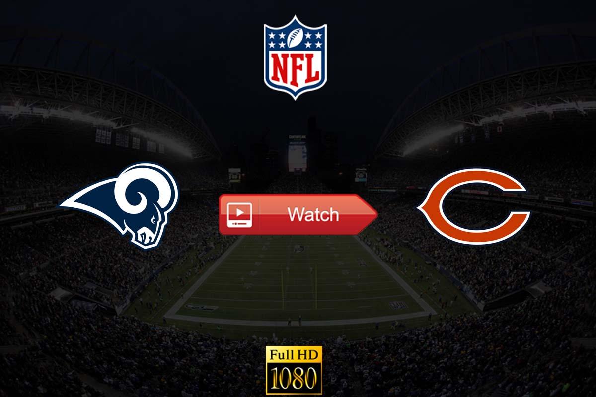 Rams vs Bears live stream reddit