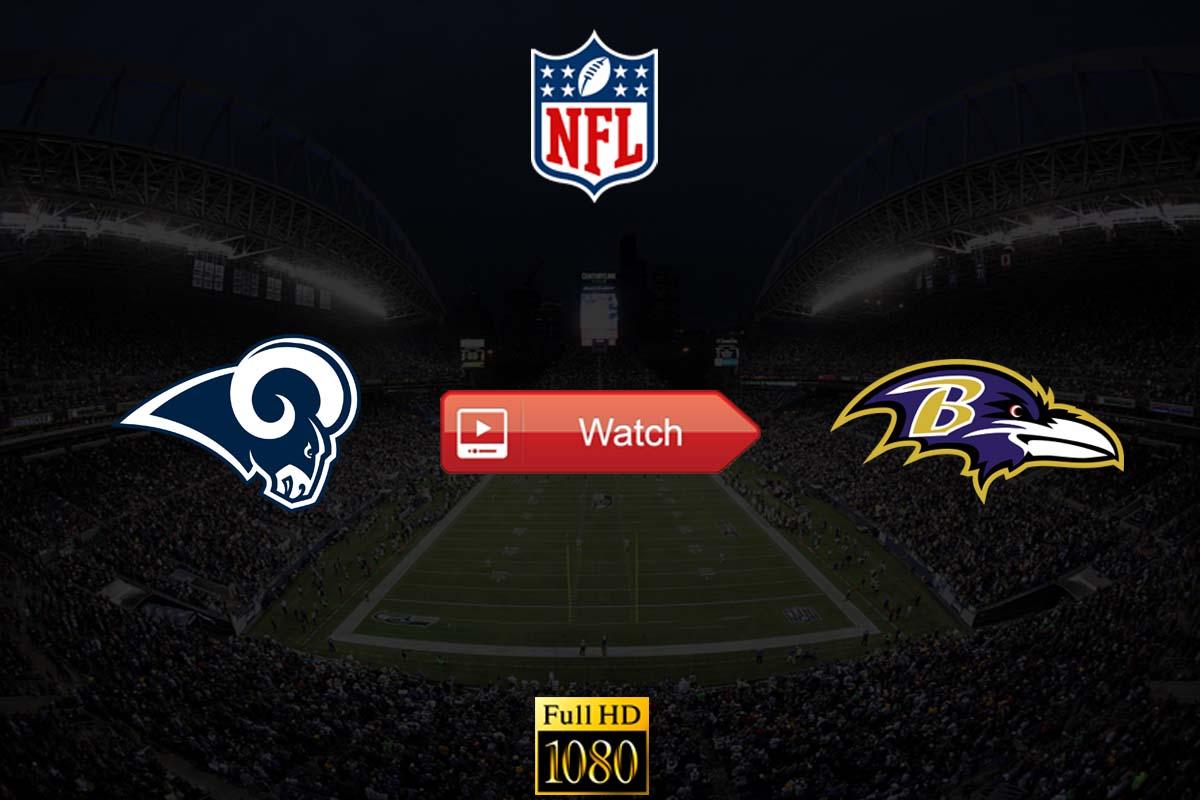 Rams vs Ravens live stream reddit